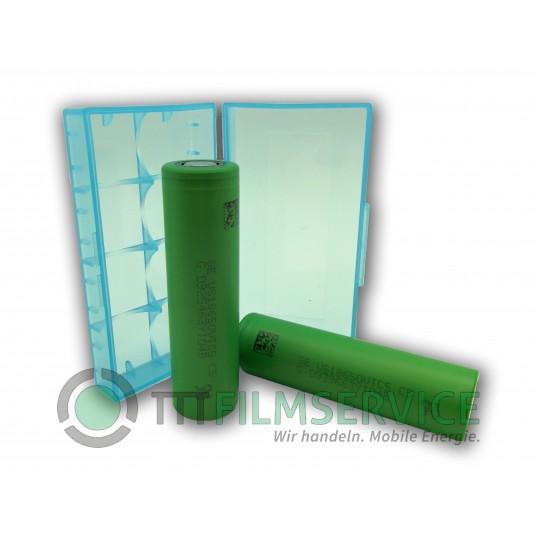 Sony / Murata – Konion US 18650 VTC5 2600mAh 3,6V-3,7V 30A Li-Ionen Akku – 1 Stück inkl. Box