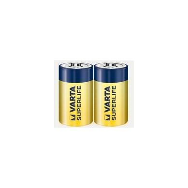 Varta - Superlife 2014 Baby C R14 1,5V Zink-Kohle Batterie – 2er Folie