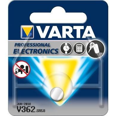 Varta – V362 SR58 SR721SW 1,55V Knopfzelle – 1er Blister