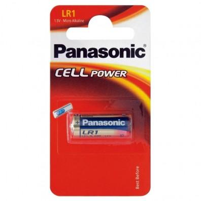 Panasonic – LR1 E90 Lady 1,5V Alkaline Batterie – 1er Blister