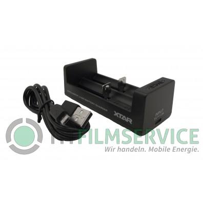 XTAR - Ladegerät MC2, Li-Ion Micro Charger, Reiseladegerät