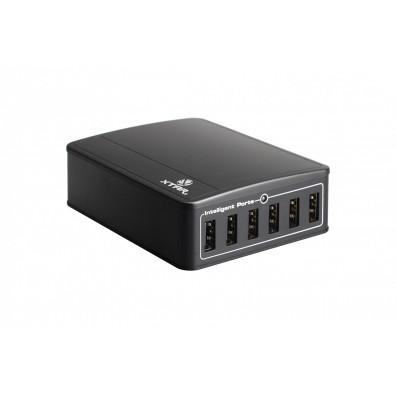 XTAR Ladegerät U1 SIX-U 45W 6-Kanal USB Verteiler