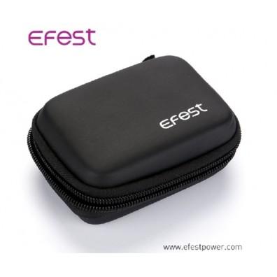Efest 3 18650 Zipper Case mit Karabinerhaken
