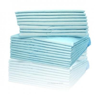 Krankenunterlage Einmalunterlage dünn blau 40x60 cm