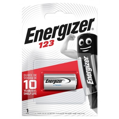 Energizer EL 123  3V Lithium im 1er-Blister