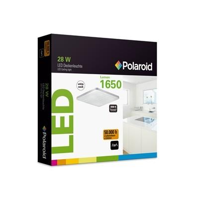 Polaroid LED Deckenleuchte 28W, 1650 Lumen, 3000 K, warmweiß (kleine Lochung)
