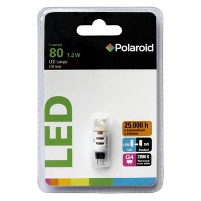 Polaroid LED G4-E 1,2W, 80 Lumen, 2800 K, G4