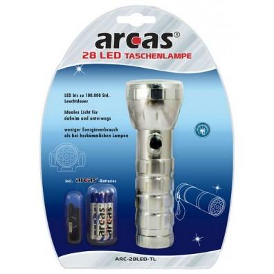 Arcas 28 LED Taschenlampe inkl. 3xAAA