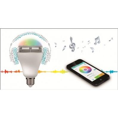 MiPow Playbulb Color LED-Glühbirne mit integriertem Lautsprecher