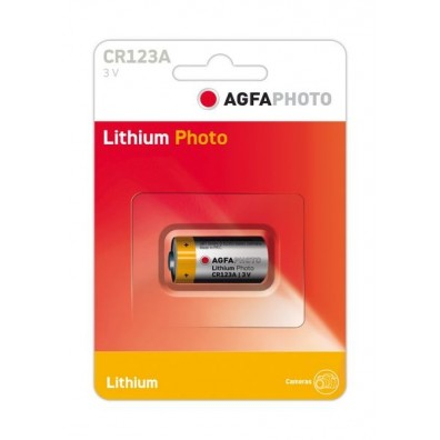 AGFA Photo – CR123 CR17345 3V Lithium Batterie – 1er Blister