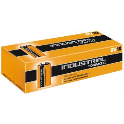 Duracell Industrial 9V E-Block MN1604 in 10er-Schachtel