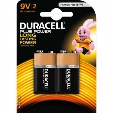 Duracell 9V E-Block MN1604 Plus Power in 2er-Blister