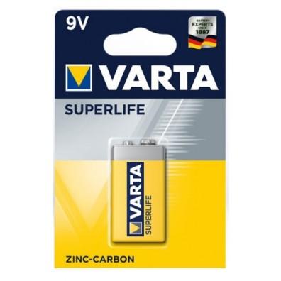 Varta 9V E-Block 2022 101 411 Superlife ZK in 1er-Blister