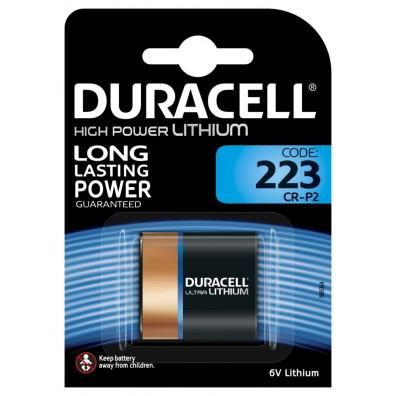 Duracell – 223 CR-P2 6V Lithium Batterie – 1er Blister
