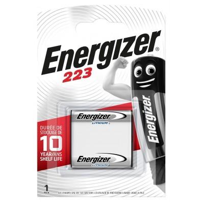 Energizer – 223 CR-P2 6V Lithium Batterie – 1er Blister