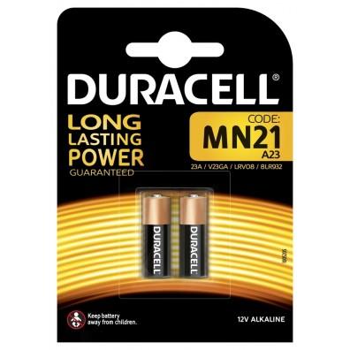Duracell – MN21 LRV08 23GA 12V Alkaline Batterie – 2er Blister
