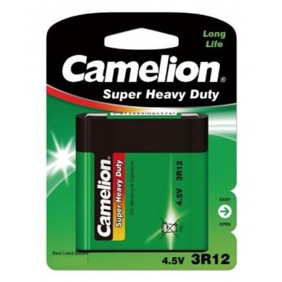 Camelion – Super Heavy Duty 4,5V Flachbatterie 3R12 Zink Kohle – 1er Blister