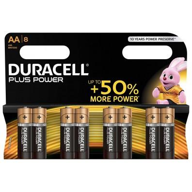 Duracell Mignon MN1500 Plus Power Duralock in 8er-Blister