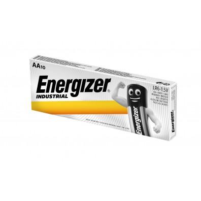 Energizer – Industrial AA Mignon LR6 1,5V Alkaline Batterie – 10er Box