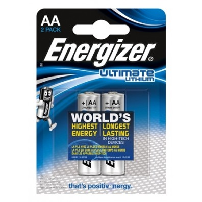 Energizer Mignon L91 Ultimate Lithium 1,5V in 2er-Blister