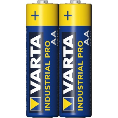 Varta – Industrial Pro 4006 AA Mignon 1,5 Alkaline Batterie – 2er Folie