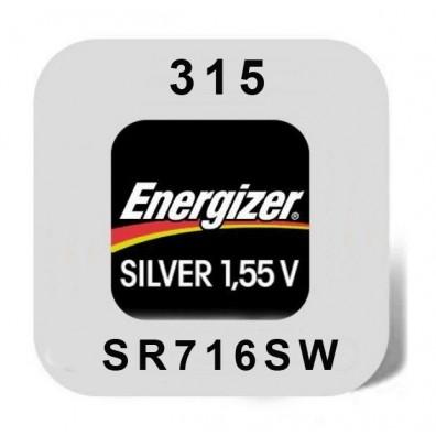 Energizer – 315 SR67 SR716SW 1,55V Knopfzelle