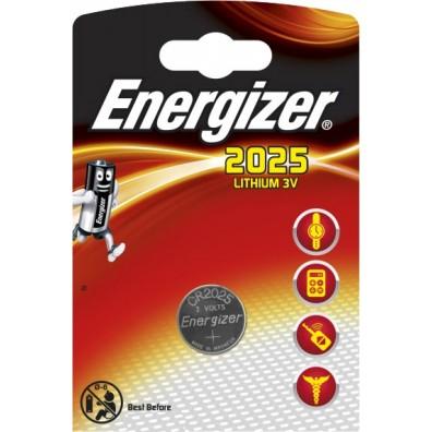 Energizer – CR2025 Lithium 3V Knopfzelle – 1er Blister