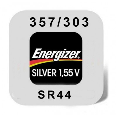 Energizer 357/303 (SR44) Uhrenbatterie in 1er-Miniblister