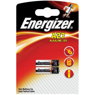 Energizer A27 12V Alkaline im 2er Blister