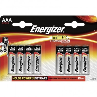Energizer – Max AA Mignon LR6 1,5V Alkaline Batterie – 8ter Blister