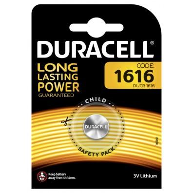 Duracell – CR1616 / DL1616 Lithium 3V Knopfzelle – 1er Blister