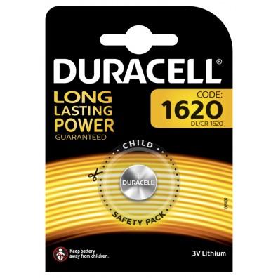 1 x Duracell DL1620  CR 1620 3V Lithium Batterie Knopfzelle im Blister
