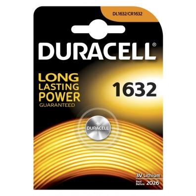 Duracell – CR1632 / DL1632 Lithium 3V Knopfzelle – 1er Blister