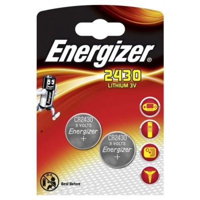Energizer – CR2430 Lithium 3V Knopfzelle – 2er Blister