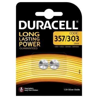 Duracell – 357 / 303 SR44 MultiDrain 1,55V Knopfzelle – 2er Blister