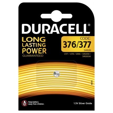 Duracell - 377 SR66 SR626SW 1,55V Knopfzelle – 1er Blister
