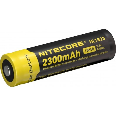 NiteCore- NL 1823 18650 2300mAh 3,7V 4A Li-Ion Akku - 1 Stück