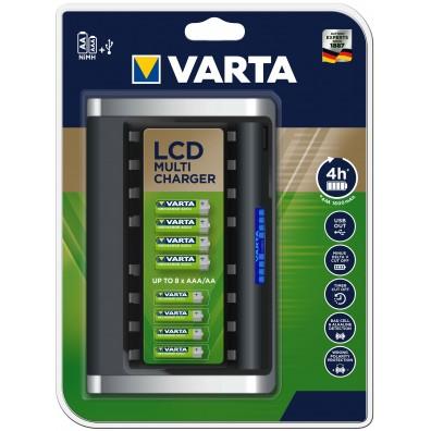 Varta - LCD Multi Charger 57671 - bis zu 8 Zellen gleich laden