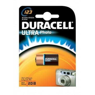 Duracell – CR123 CR17345 3V Lithium Batterie – 1er Blister