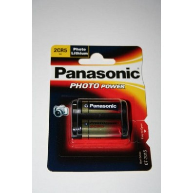Panasonic – 2CR5 245 6V Lithium Batterie – 1er Blister