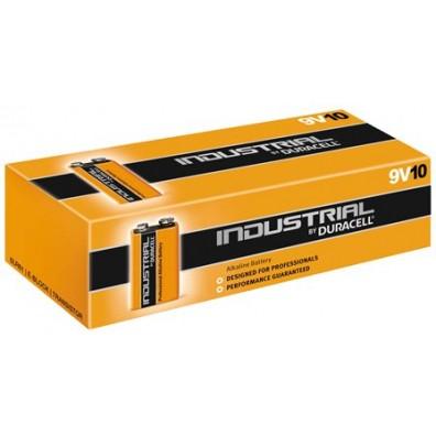 Duracell – Industrial 9V Block MN1604 6LR22 Alkaline Batterie – 10er Schachtel