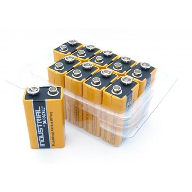Duracell – Industrial 9V Block MN1604 6LR22 Alkaline Batterie – 10er Box