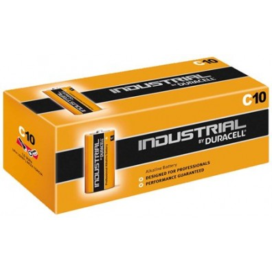 Duracell – Industrial Baby C MN1400 LR14 1,5V Alkaline Batterie – 10er Box