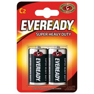 Energizer - Eveready Baby C R14 1,5V Zink-Kohle Batterie – 2er Blister