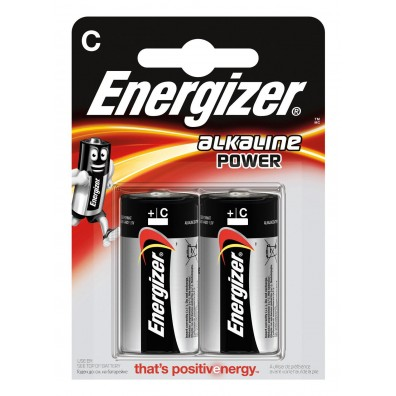 Energizer - Power Baby C LR14 1,5V Alkaline Batterie – 2er Blister