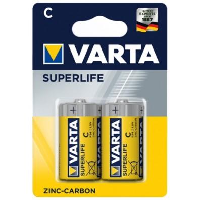 Varta - Superlife 2014 Baby C R14 1,5V Zink-Kohle Batterie – 2er Blister