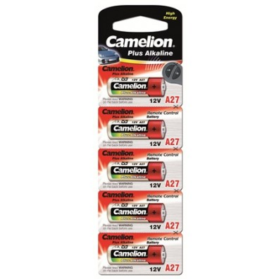 Camelion – A27 27A MN27 12V Alkaline Batterie – 5er Blister