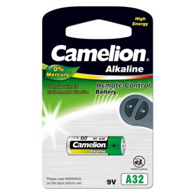 Camelion - A32 LR32 9V Alkaline Batterie - 1er Blister