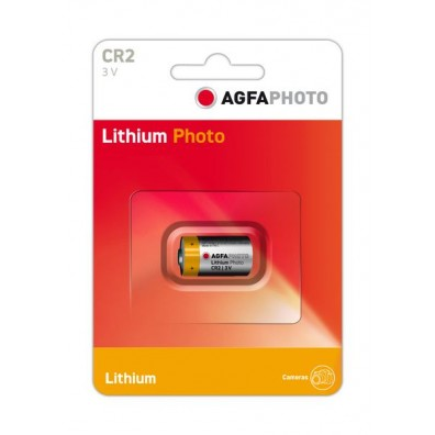 AGFA Photo – CR2 CR17355 3V Lithium Batterie – 1er Blister