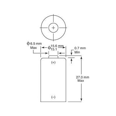 Duracell – CR2 CR17355 3V Lithium Batterie – 500er Bulk